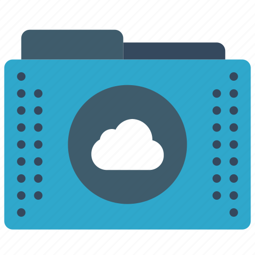 cloud, files, folder, folders, remote icon