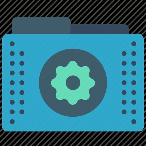 config, files, folder, folders, settings icon
