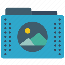 files, folder, folders, graphic, images icon