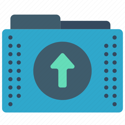 files, folder, folders, up, upload icon