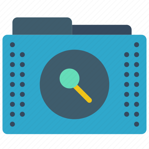 browse, files, folder, folders, search icon