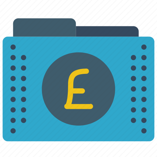fees, files, finance, folder, folders, pound icon