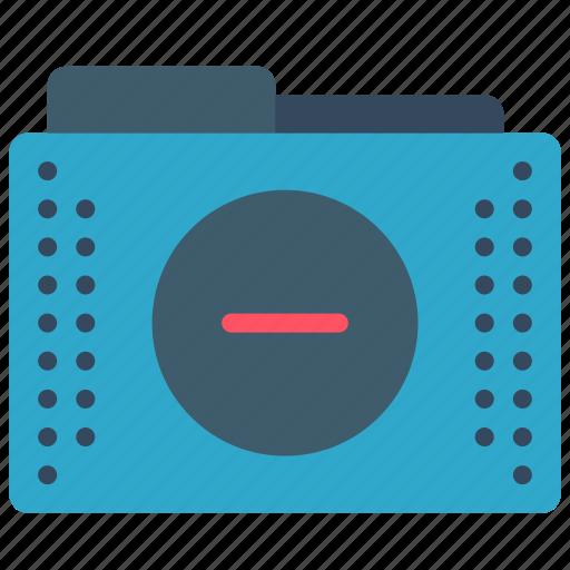 files, folder, folders, minus, remove icon