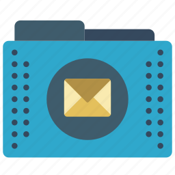 email, files, folder, folders, mail icon