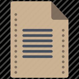 doc, file, files, folders, text icon