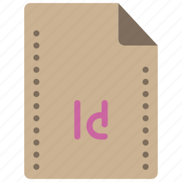 adobe, dtp, file, files, folders, indesign icon