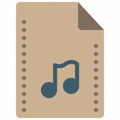 audio, file, files, folders, music, sound icon