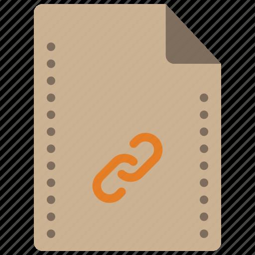 file, files, folders, hyperlink, link, linked icon