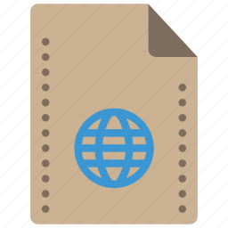 config, file, files, folders, internet icon