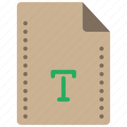 file, files, folders, font, type, typeface icon
