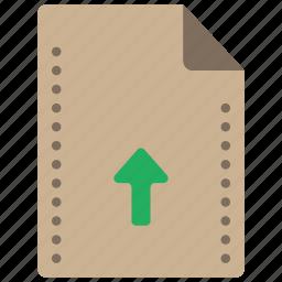 file, files, folders, up, upload icon