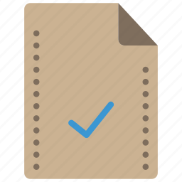 accepted, and, complete, file, files, folders, tick icon