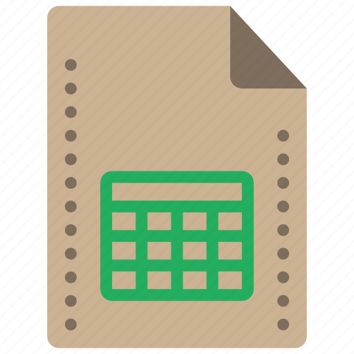 fees, file, files, folders, spreadsheet, xls icon