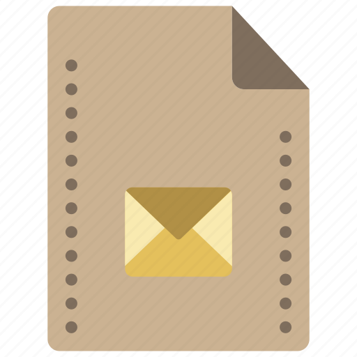 email, extension, file, files, folders, mail icon