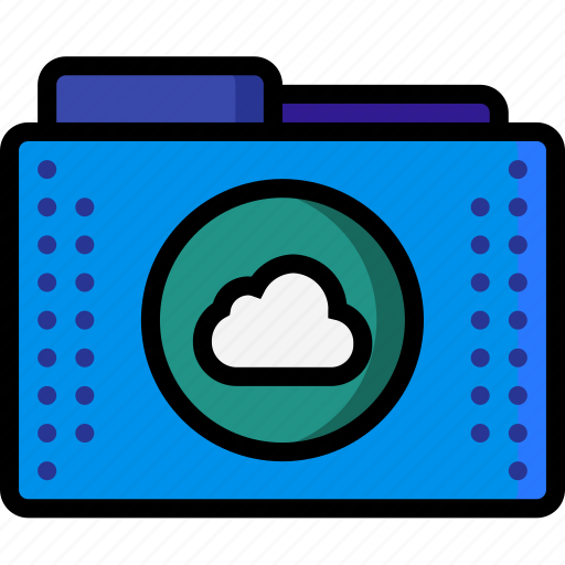 cloud, files, folder, folders, remote, storage icon