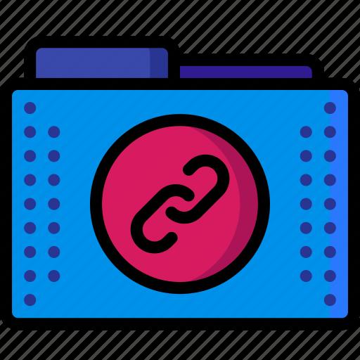 anchors, chain, files, folders, hyperlink, links, refs icon
