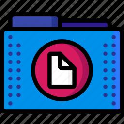 doc, document, files, folder, folders, plain text, text icon