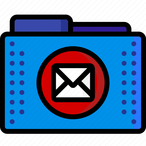 email, files, folder, folders, mail, outlook icon