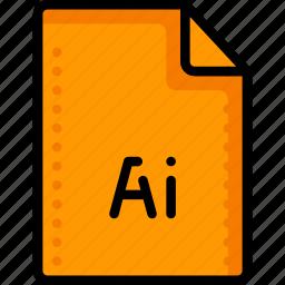 adobe, extension, file, files, folders, graphics, illustrator icon