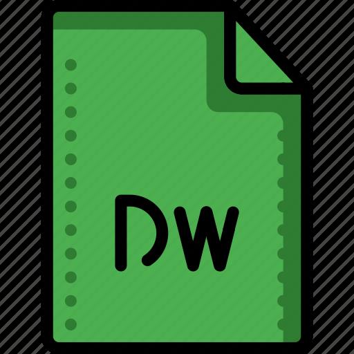 adobe, app, dreamweaver, editor, files, folders, html icon