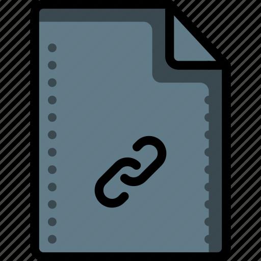 chain, files, folders, hyperlink, link, ref, refs icon