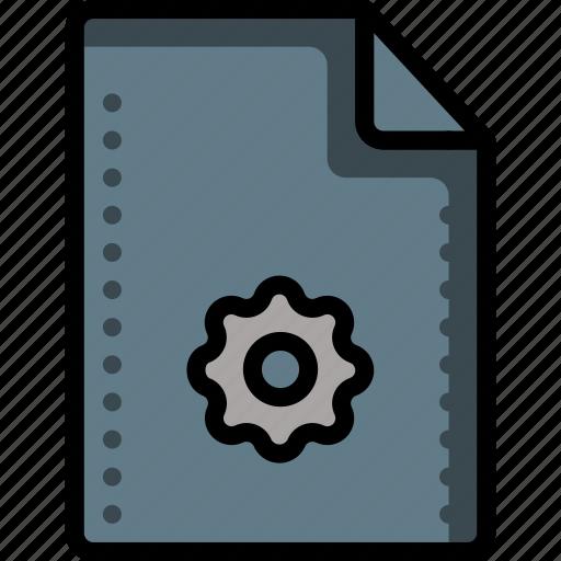 config, file, files, folders, preferences, prefs, setup icon