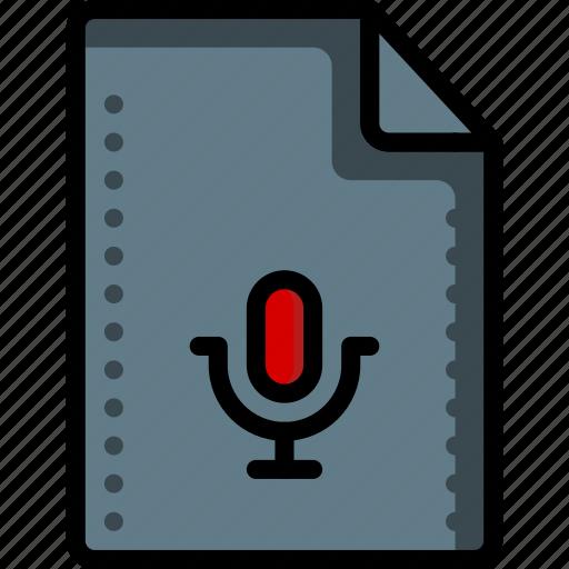 audio, file, files, folders, recording, sound, ultra icon