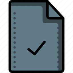 accepted, complete, completed, file, files, folders, tick icon