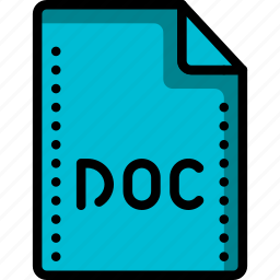 doc, extension, file, files, folders, microsoft, word icon