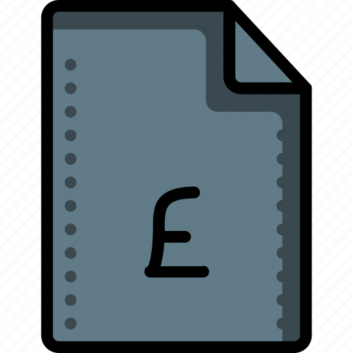 fees, file, files, finance, folders, money, pound icon