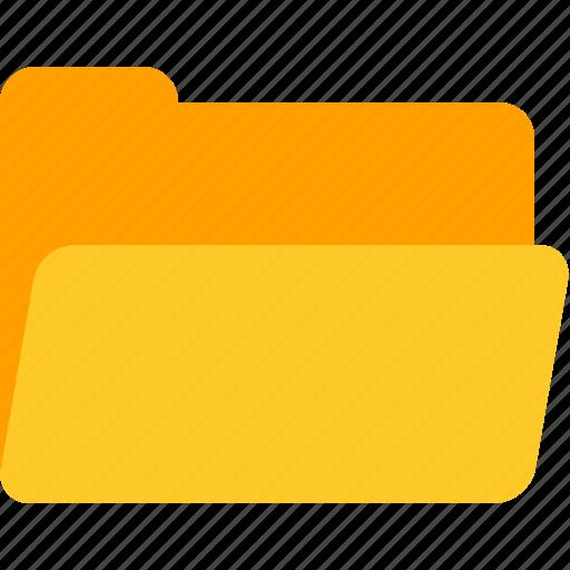 documents, folder, office, open icon