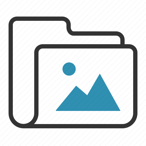 folder, image, photo, picture icon