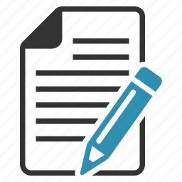 article, message, pencil, text, write icon