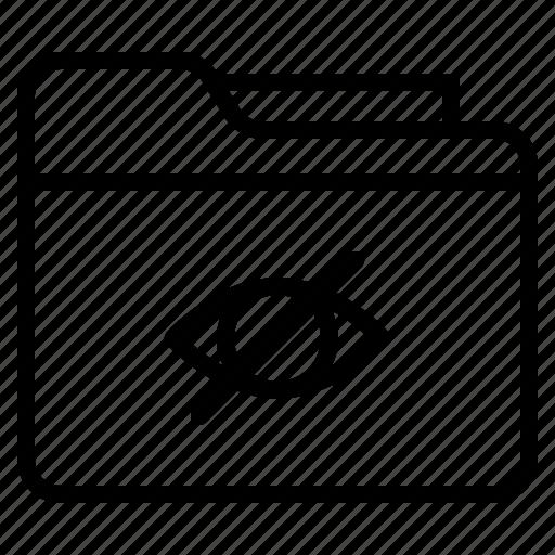 archive, file, folder, hidden icon