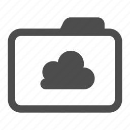 archive, cloud, folder, network, shared icon