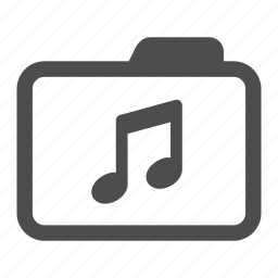 archive, audio, folder, mp3, music, notes, sound icon