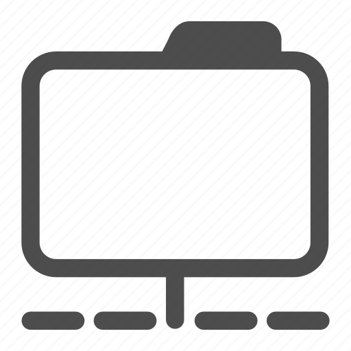 archive, folder, internet, network, shared icon
