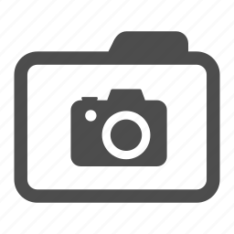 archive, camera, folder, photo, photography icon