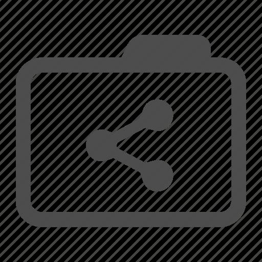 archive, distribute, folder, share icon