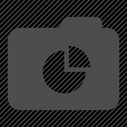 archive, chart, folder, pie, statistics icon
