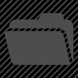 archive, folder, open icon