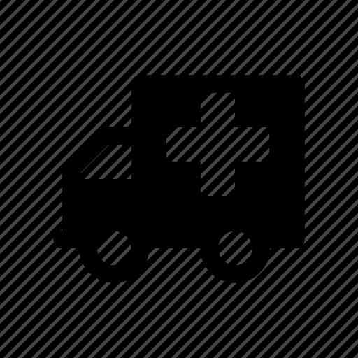 ambulance, automobile, car, chariot, motor, sedan, wagon icon