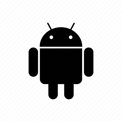 android, mean, men, robot icon
