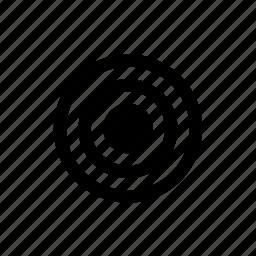 bullseye, geolocation, position, target icon