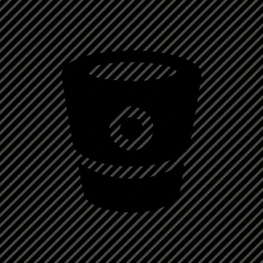 basket, camera, pannier, recycle icon