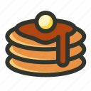 food, pan cake icon