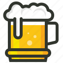 alcohol, beer, beer mug, drink, food icon