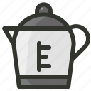electric kettle, kettle, tea kettle, teapot icon