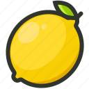 citrus, fruit, juicy, lemon, lemonade icon