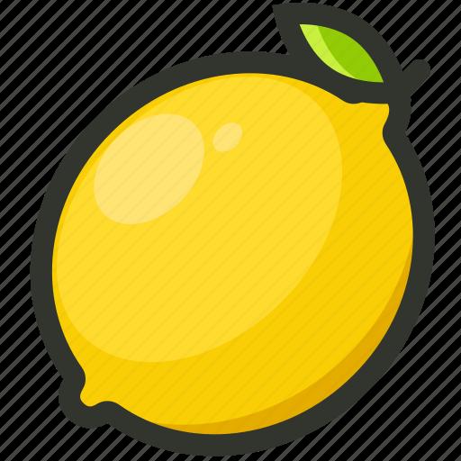 citrus, fruit, juicy, lemon, lemonade icon